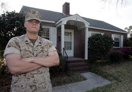military foreclosure